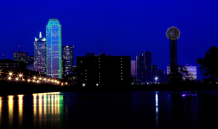 Dallas On The Trinity Photograph