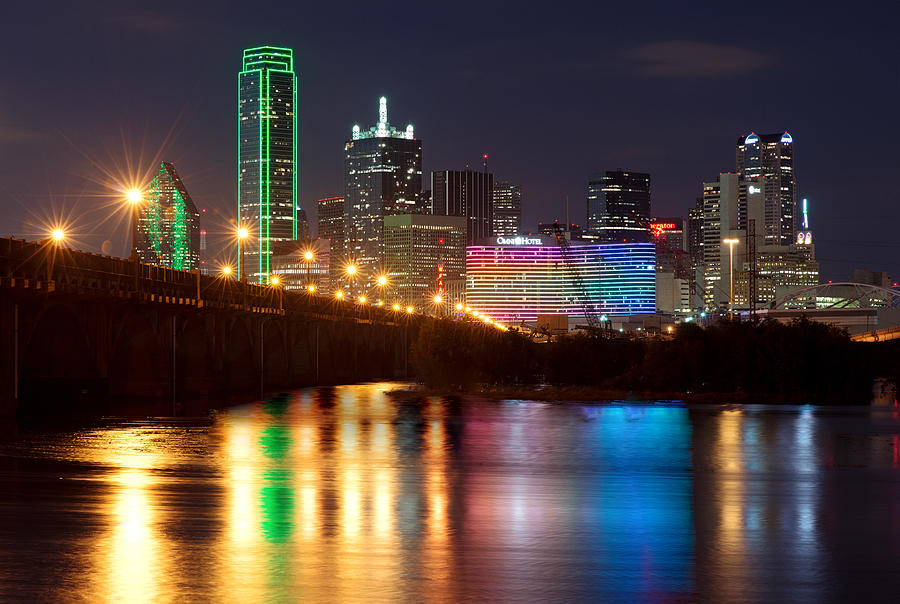 Dallas Reflections by Rospotte Photography