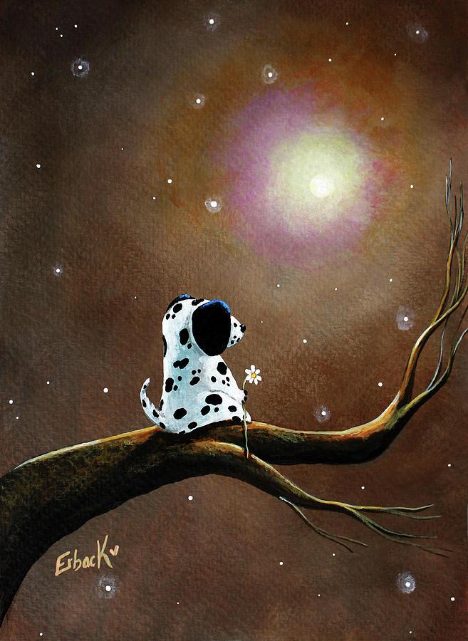 Dalmatian Painting by Erback Art