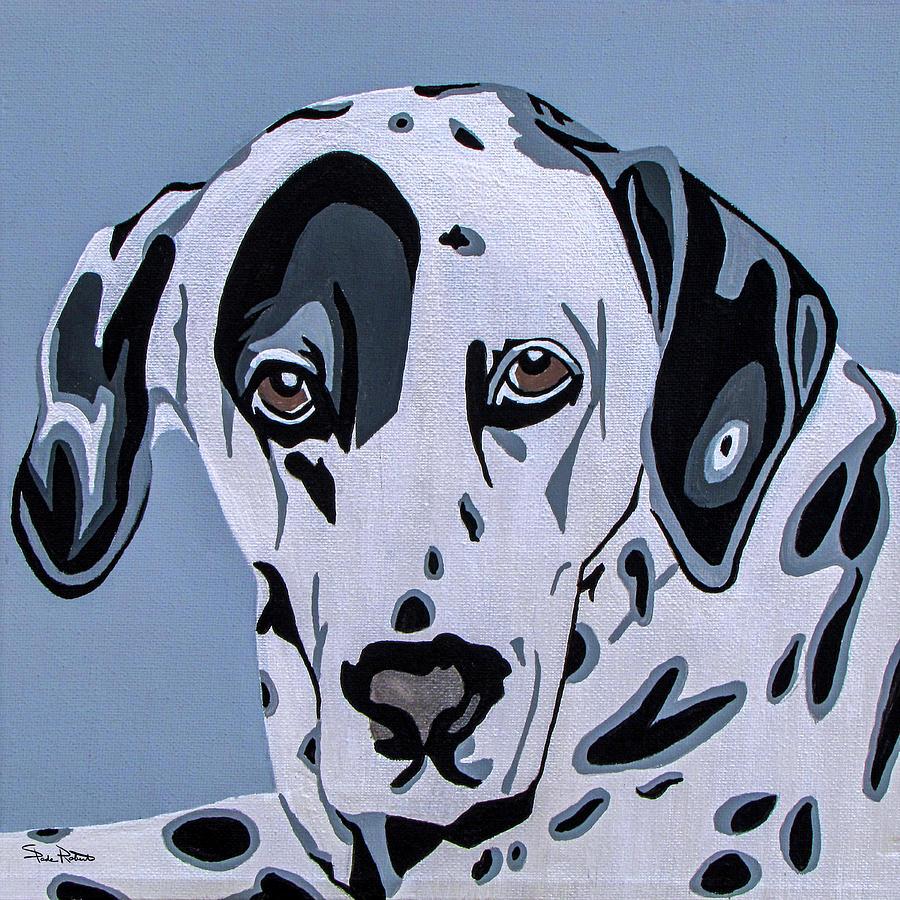 Dalmatian Painting - Dalmatian by Slade Roberts