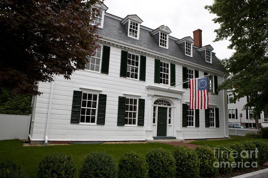 Dalton House Newburyport Massachusetts Photograph