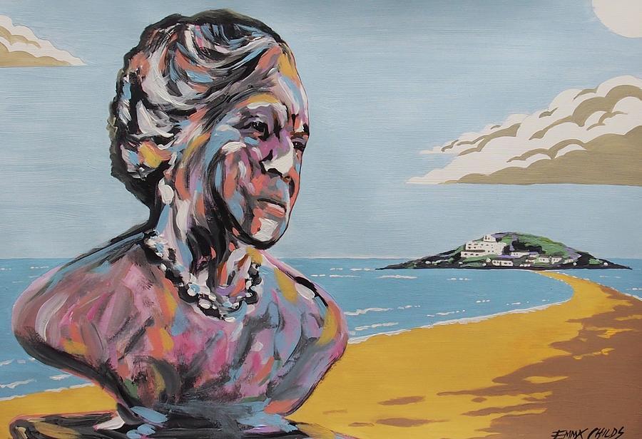 Dame Agatha Christie Painting