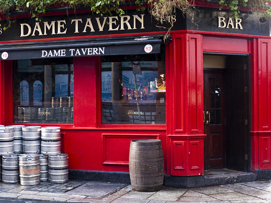 Pub Photograph - Dame Tavern by Rae Tucker
