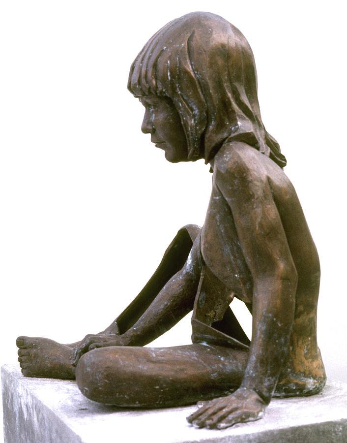Human Figure Sculptures Sculpture - Damian by Sarah Biondo