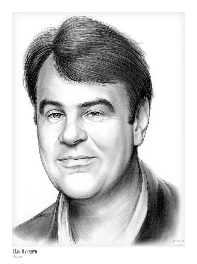 Dan Aykroyd Drawing