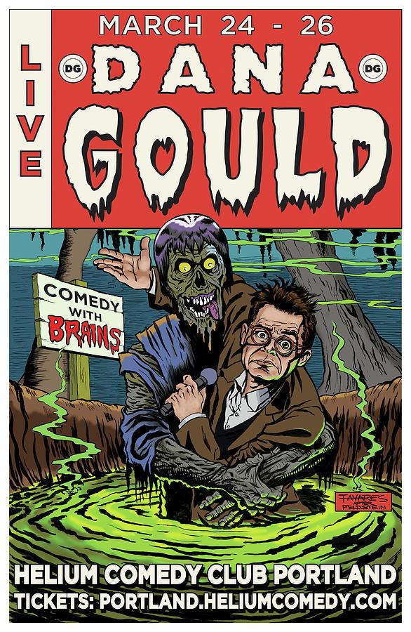 Dana Gould at the Helium Comedy Club by Mark Tavares