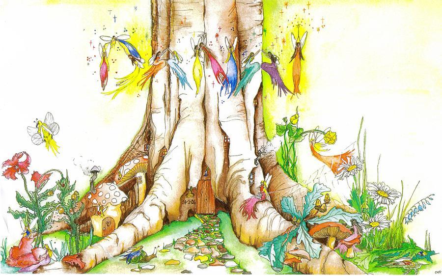 Danai Fairy Illustration Painting