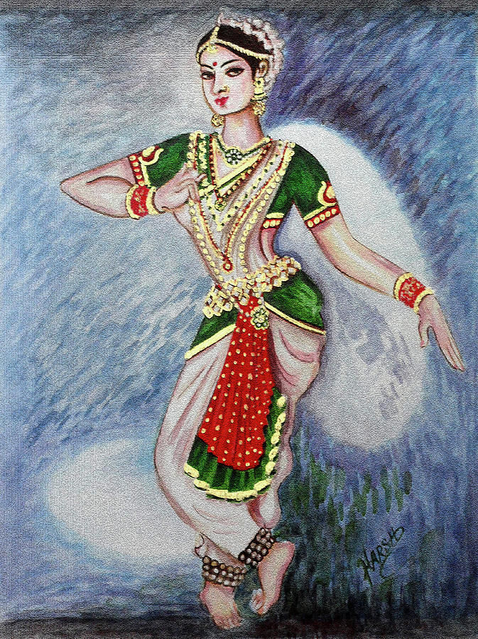 Dance 2 Painting By Harsh Malik