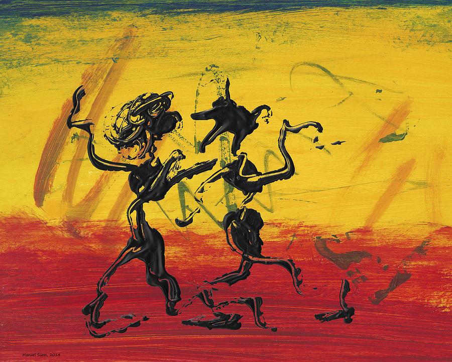 Dance Art Dancing Couple XII by Manuel Sueess