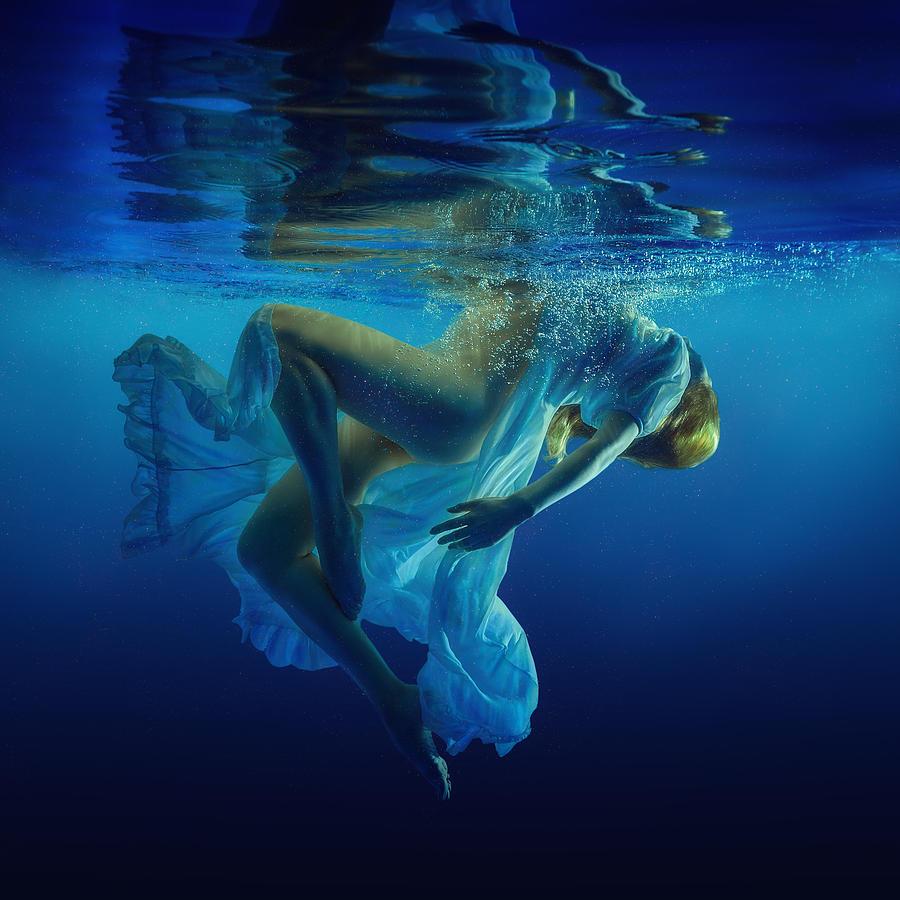 Girl Photograph - Dance by Dmitry Laudin