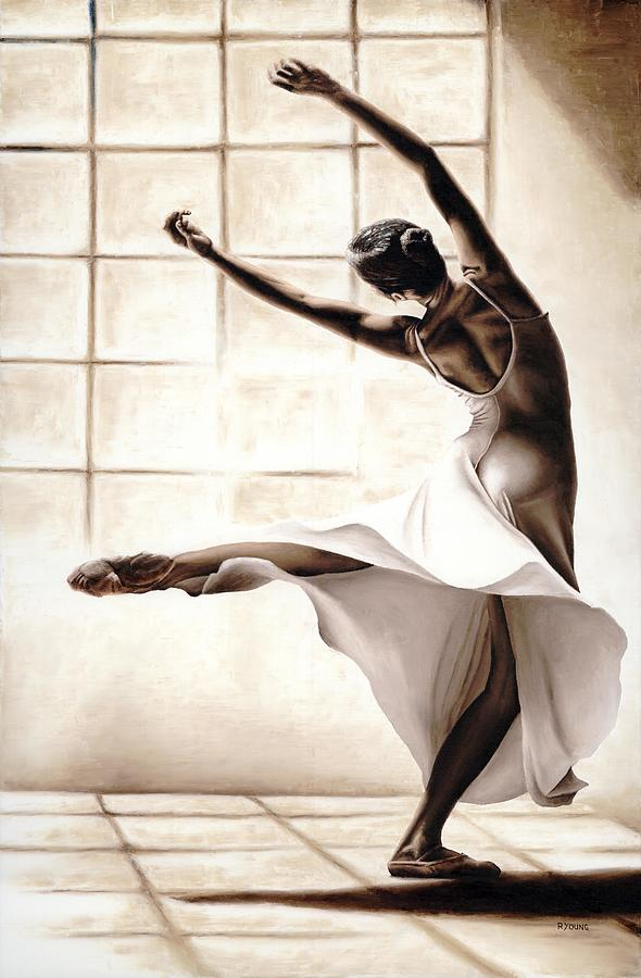 Dancer Painting - Dance Finesse by Richard Young