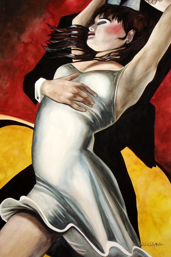Dance Painting - Dance by Lelia DeMello