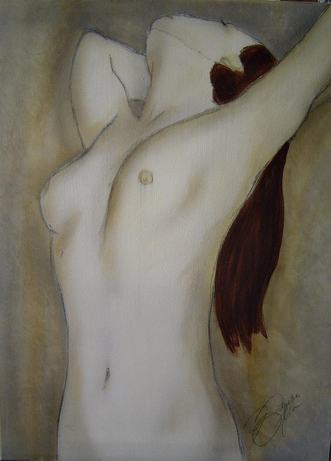 Nude Painting - Dance Me To Your Beauty2 by Bridgette  Allan