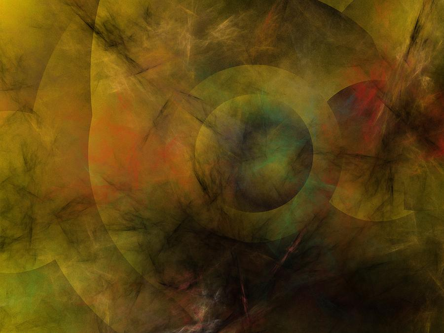 Fantasy Digital Art - Dance of the Spheres  by David Lane