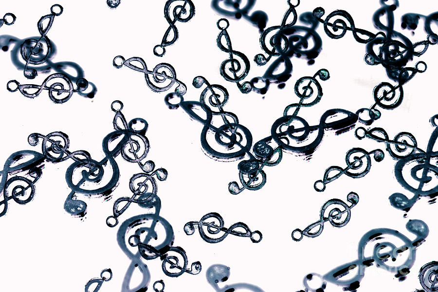 Abstract Photograph - Dance Of The Treble Clef  by Jorgo Photography - Wall Art Gallery