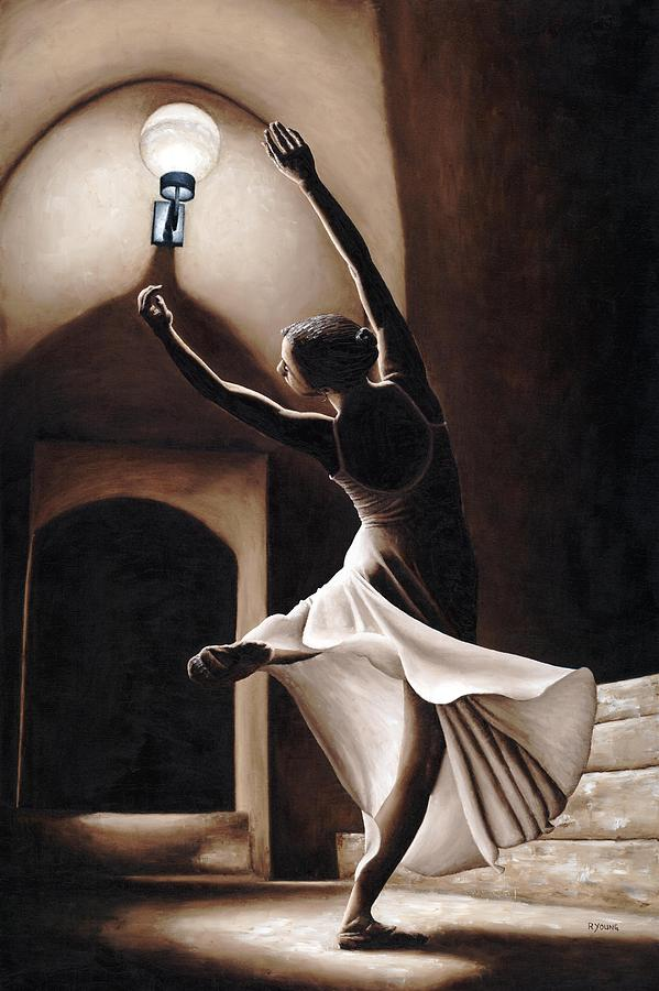 Dance Painting - Dance Seclusion by Richard Young