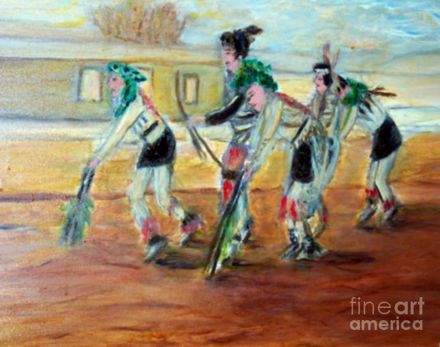 Dance Painting - Dance by Stanley Morganstein