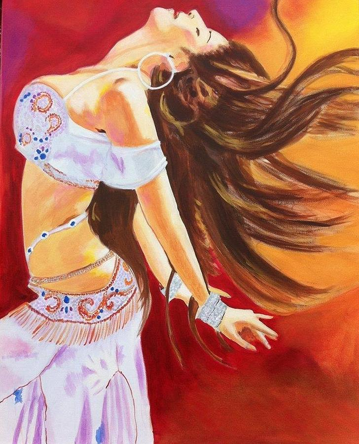 Motivation Painting - Dance To Be Free by Yvonne Payne