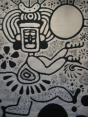 Dance Painting - Dance With Balls I by Lehua Ehukai