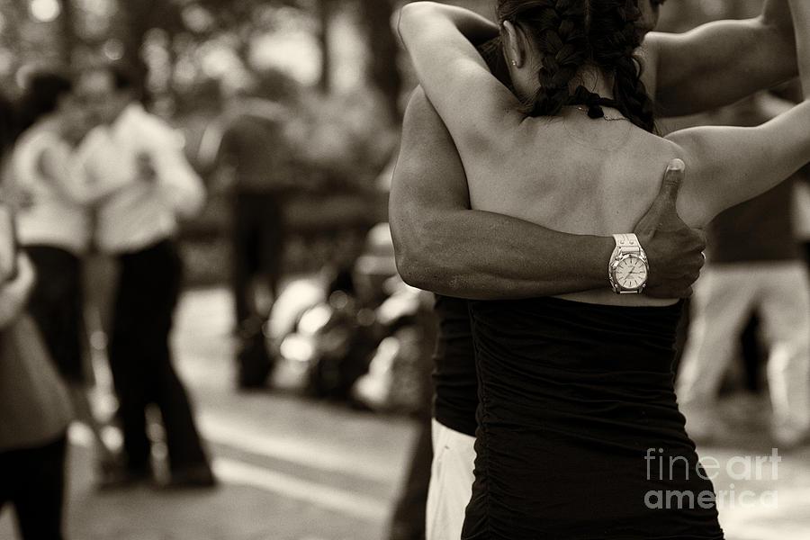 Tango Photograph - Dance With Me by Leslie Leda