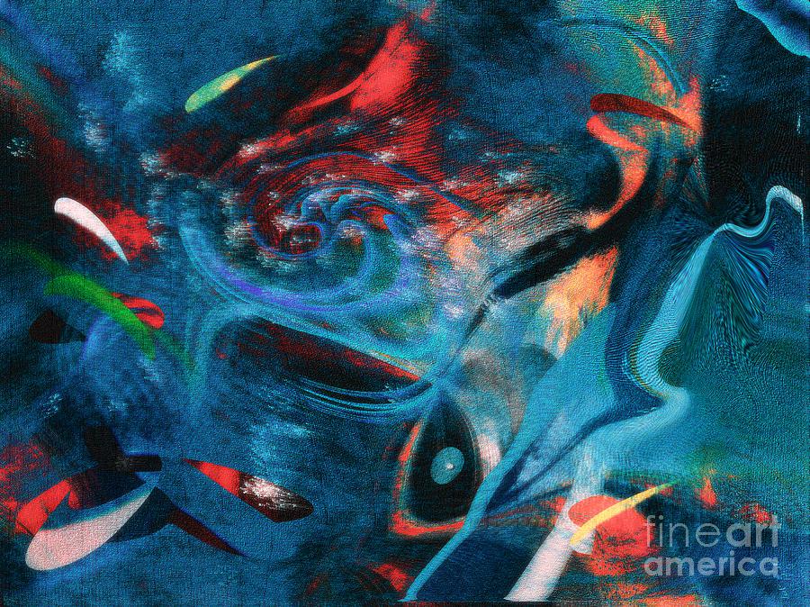 Fractals Digital Art - Dance by Yul Olaivar