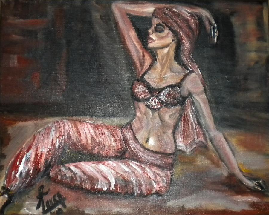 Nature Framed Prints Painting - Danced All Nite by Laura Fatta