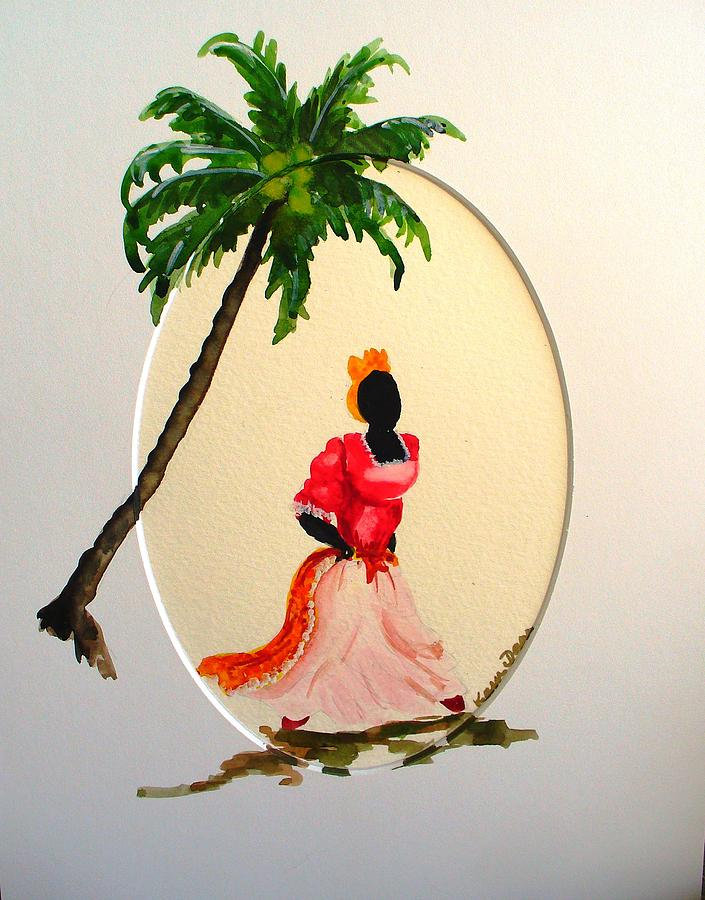 Dancer 1 Painting by Karin  Dawn Kelshall- Best