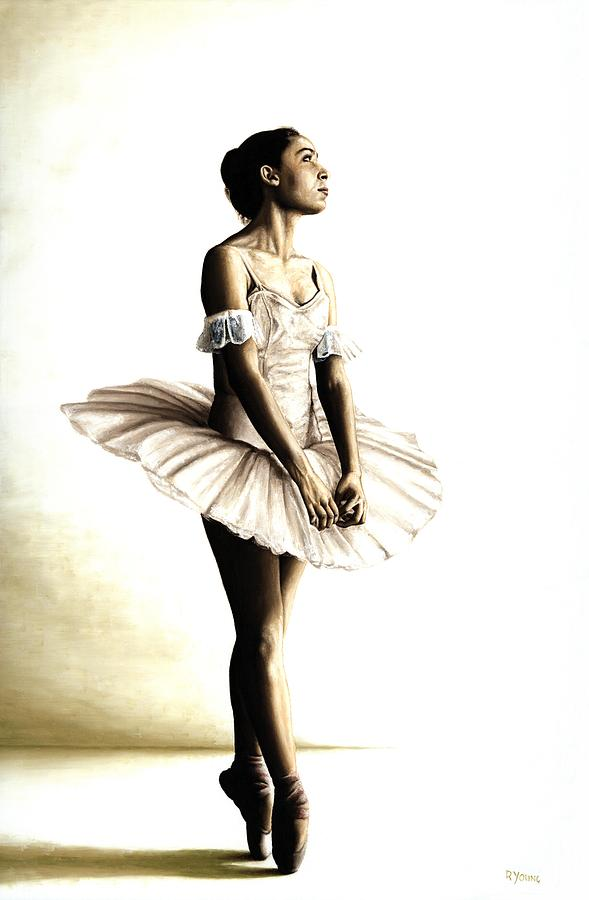Ballet Painting - Dancer At Peace by Richard Young