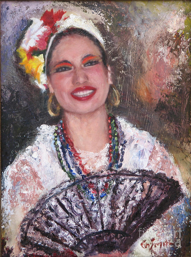 Portraits Painting - Dancer by Chris Neil Smith