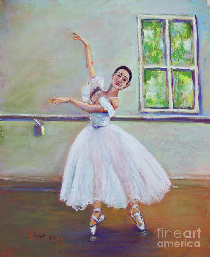 Ballerina Pastel - Dancer by Joyce A Guariglia