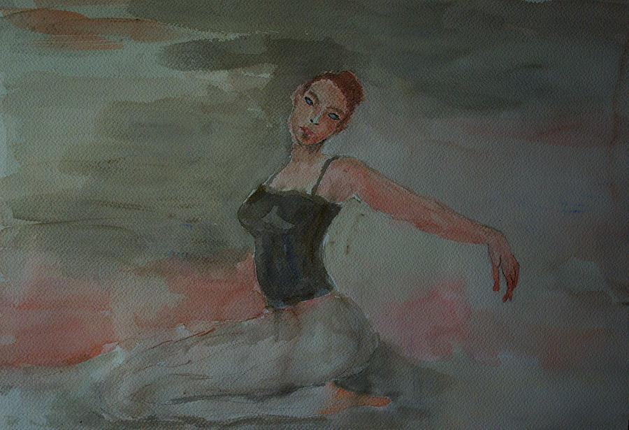 Dance Painting - Dancer by Liliana Andrei