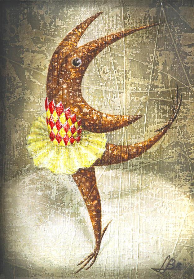 Ballerina Painting - Dancer by Lolita Bronzini