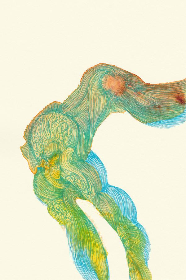 Dancer Drawing - Dancer- #ss14dw039 by Satomi Sugimoto