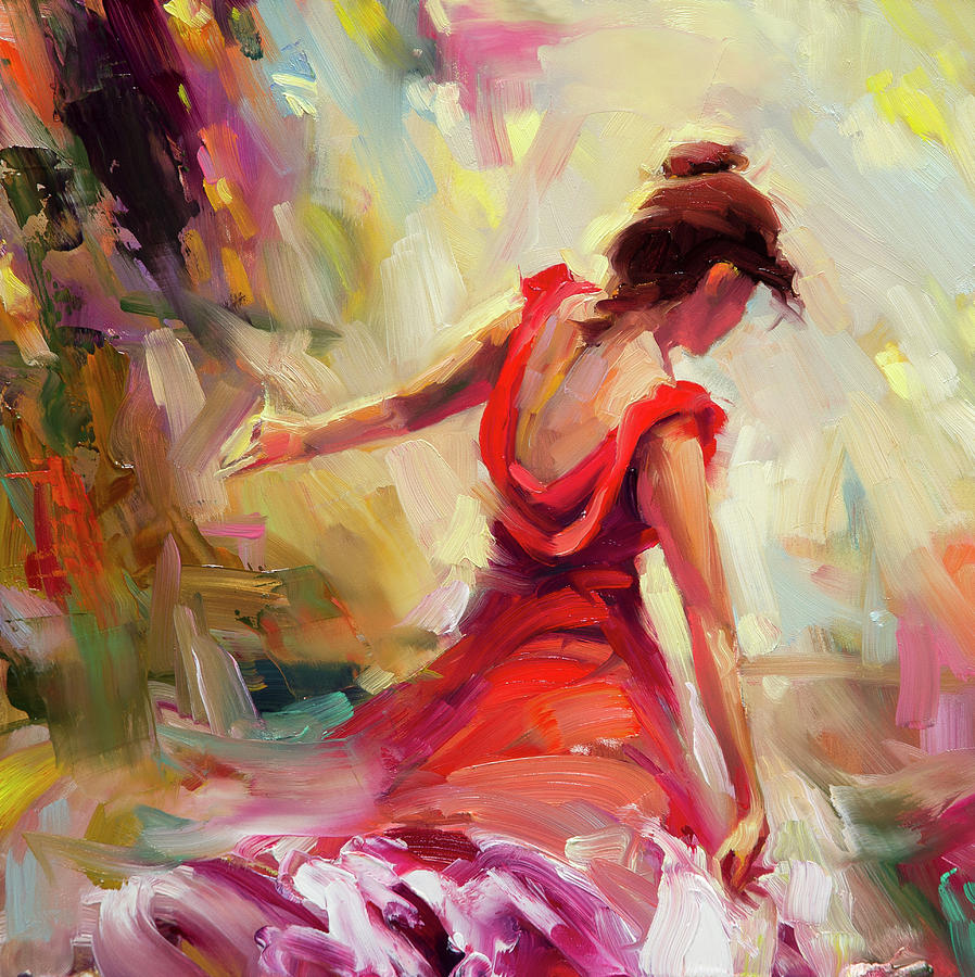 Dancer Painting - Dancer by Steve Henderson