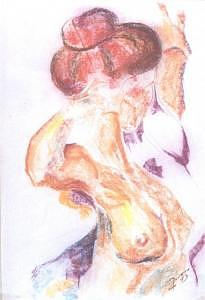 Nude Painting - Dances by Marcello Romeiro