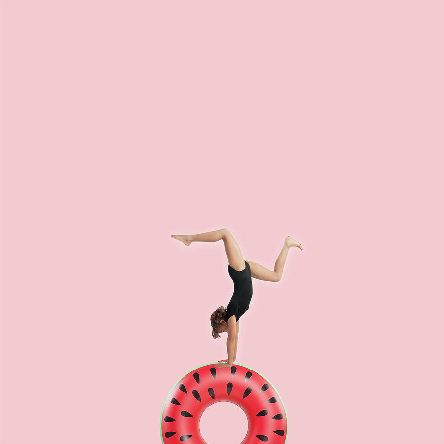 Minimal Photograph - Dancing by Caterina Theoharidou