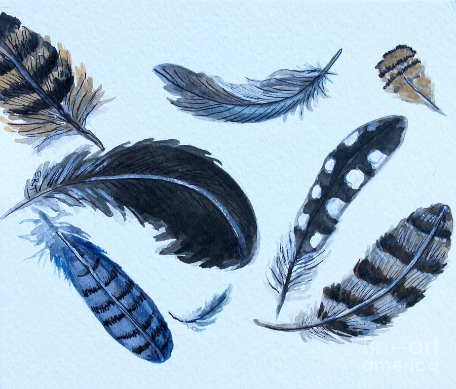 Dancing Feathers by Elizabeth Robinette Tyndall