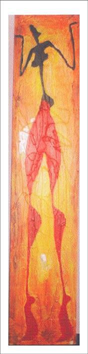 Dancing Girl Painting - Dancing Girl by Dr Ruchi Vidyarthi