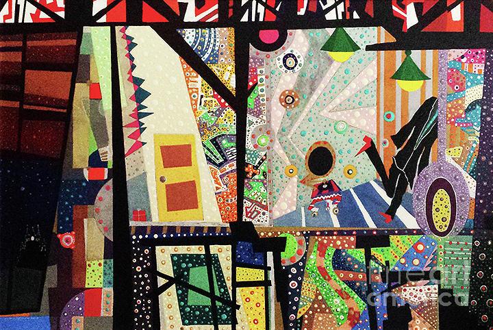 Dancing Painting - Dancing In The Dark by Johny Deluna