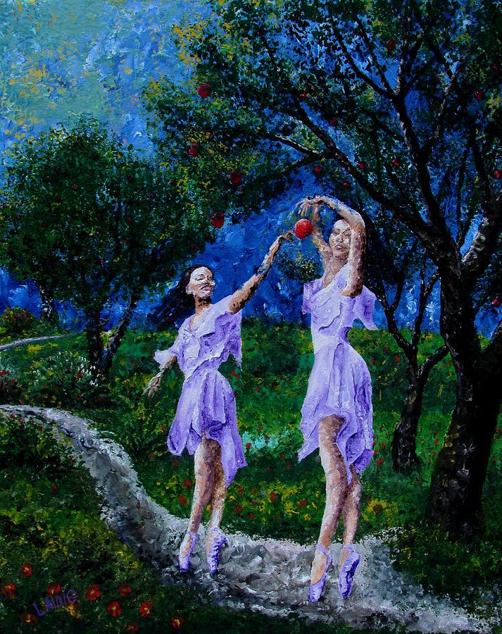 dancing in the garden of delights  by Aarron  Laidig