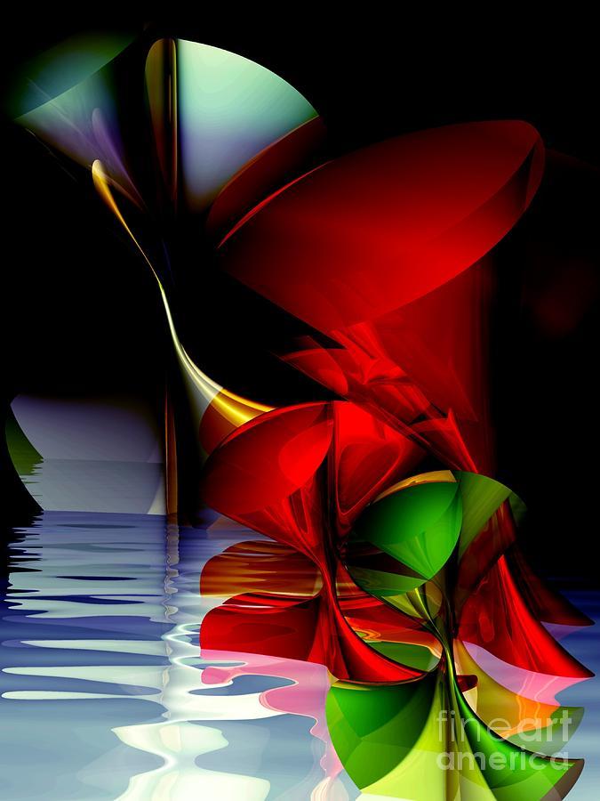 3d Digital Art - Dancing Polynomials by Issabild -