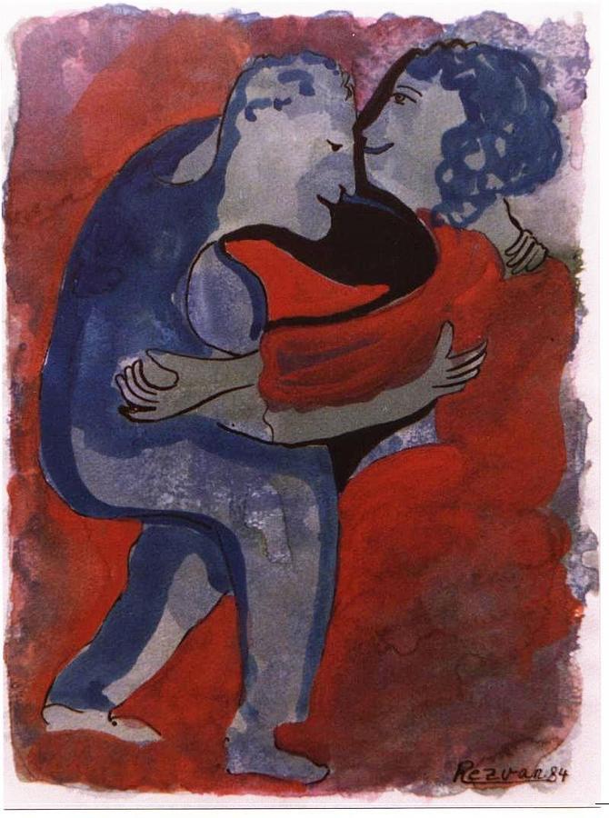 Dancing by Rezvan Kani