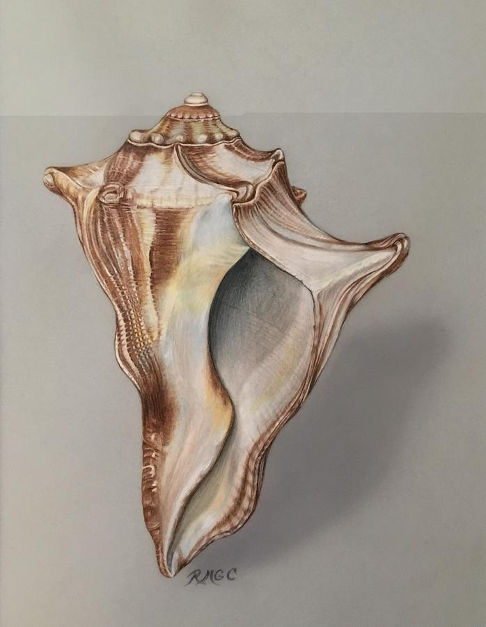 Dancing Seashell by Rose Mary Gates