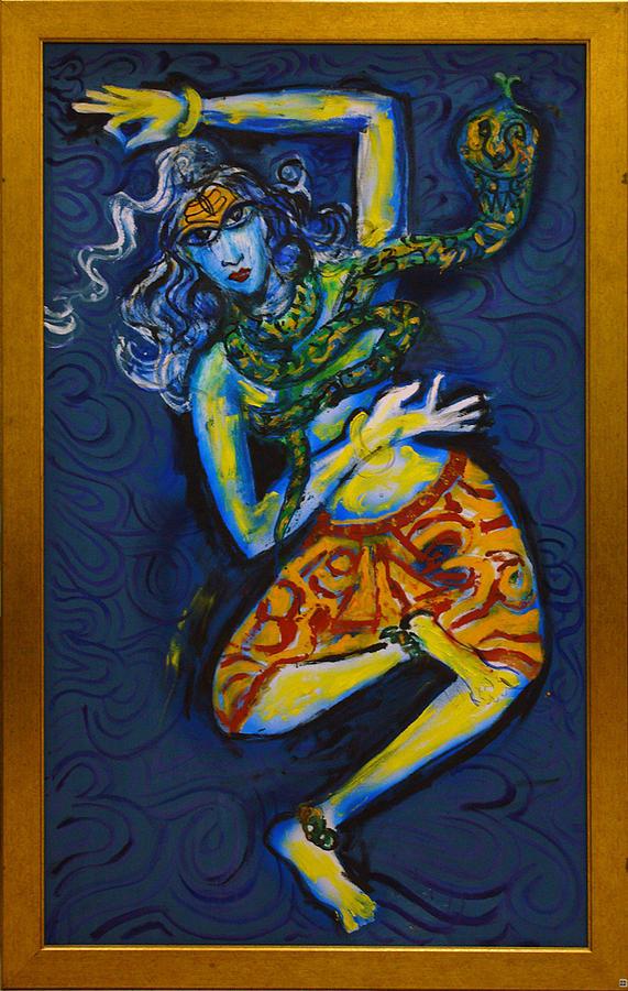 Dancing Shiva by Guruji Aruneshvar Paris Art Curator Katrin Suter