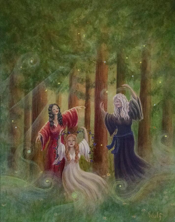Dancing the World by Bernadette Wulf