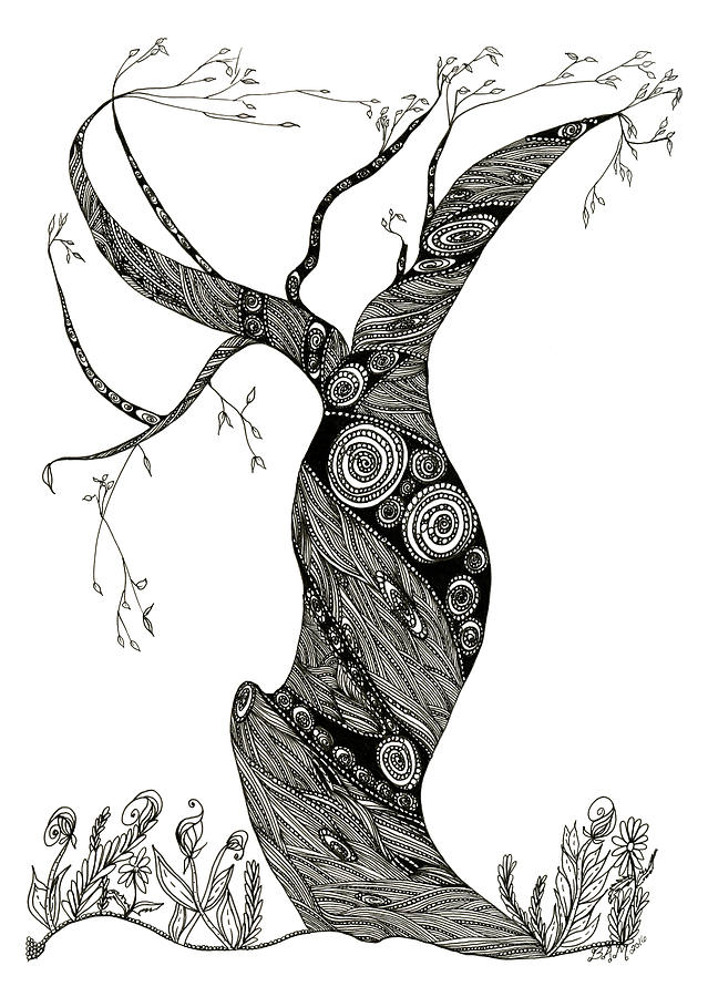 Dancing Tree by Barbara McConoughey