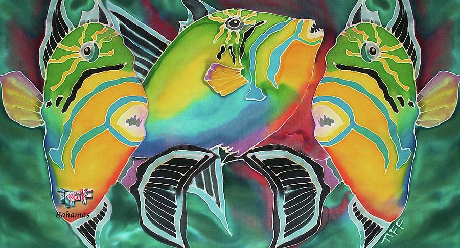 Bahamas Painting - Dancing Triggers Mug by Tiff