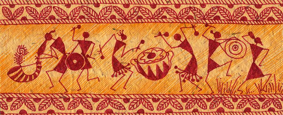 Warli painting mics ias lucknow altavistaventures Image collections