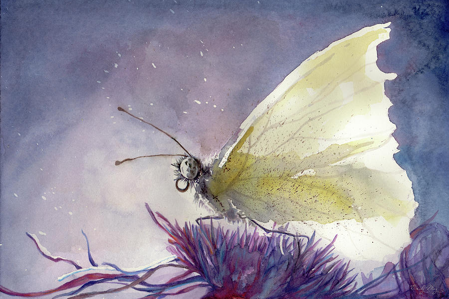 Dancing with Moonlit Wings by Emily May Studio Arts