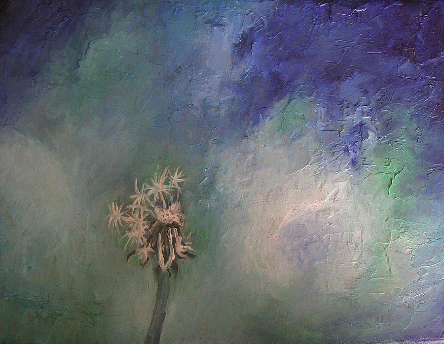 Dandelion Painting - Dandelion by Janina Magnusson